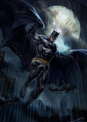 Batman (fanart) by dleoblack