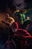 Daredevil by dleoblack