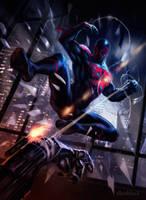 Spider Man 2099 by dleoblack