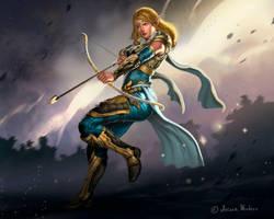 Royal Archer by dleoblack