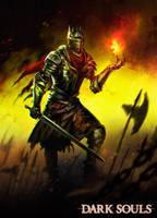 Dark Souls 3 fanart by dleoblack