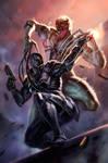 Venom vs Venom by dleoblack