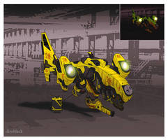 Tiger_ attack drone by dleoblack