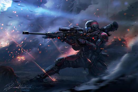Titanfall  speed fanart by dleoblack
