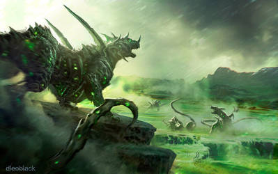 Brimstone Kings of the Cradle by dleoblack