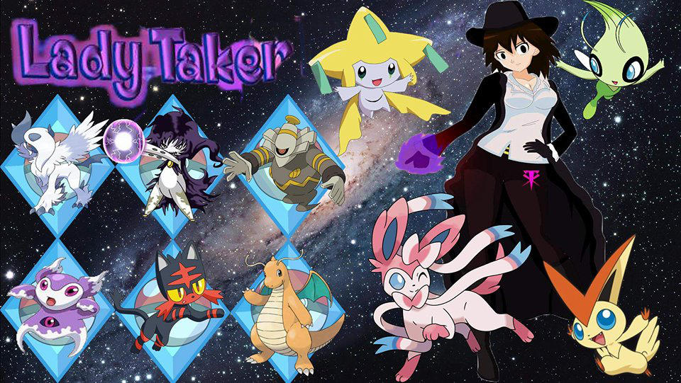 lady taker pokemon by LadyTakerFandub
