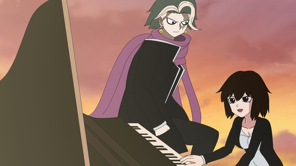 Tanaka Gundham X Lady Taker With Piano by LadyTakerFandub