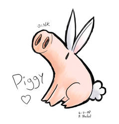 Piggy by GreenMage