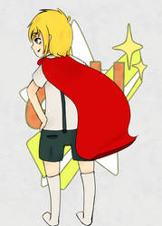 Super Hero by MintAshes