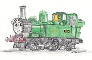 Oliver the Western Engine by NSL714