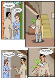 The Missing Model page 004 by SakkeM