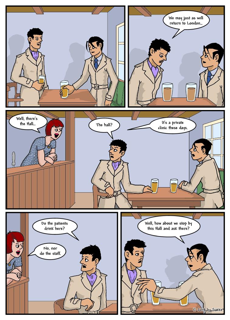 The Missing Model page 7 by SakkeM