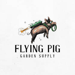 Flying Pig by madpepperdesign