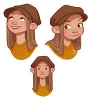 Face Sketches by Eminina