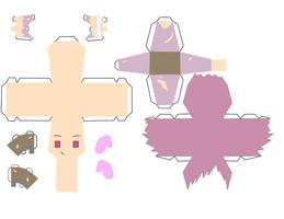 Tails Papercraft Template by Huski-Fan on DeviantArt