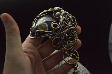 Bracelet made of butterfly by DARiyaKUTEPOVA