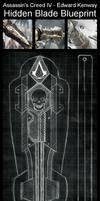 ACIV - Edward Kenway - Hidden Blade by Trujin
