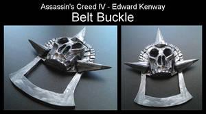 Assassin's Creed IV - Edward Kenway - Belt Buckle by Trujin