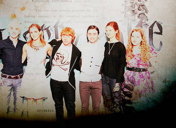 Harry Potter Photocall London by nikoopotter
