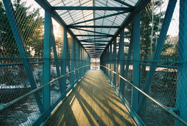 Blossburg Bridge by magicoddeffect