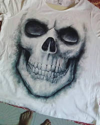 Hand Painted -T-Shirt (Commission) by vstonem4