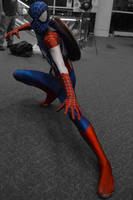 Captain Spider (RI Comic Con Cosplay) by H-R-Germaine