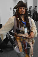 Captain Jack Sparrow (RI Comic Con Cosplay) by H-R-Germaine