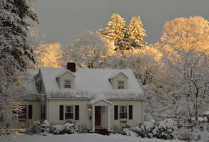 Twin Pines by H-R-Germaine