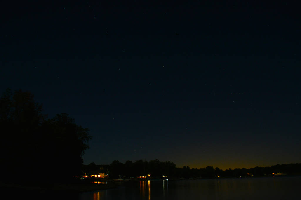 Big Dipper Over Champlain by H-R-Germaine