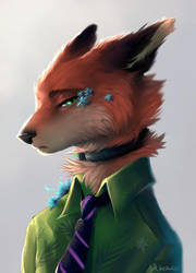 Nick Wilde by YanaTkach