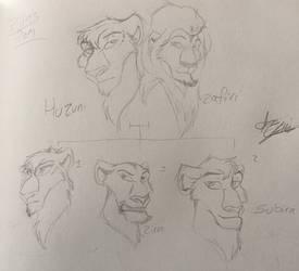 Zira's Family by AshTLK