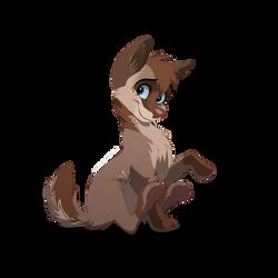 Wolf pup OTA by AshTLK