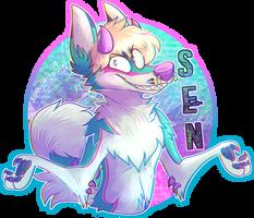 Sen badge by SHOUTMILO