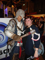Connor Kenway and me by BunnyByoux