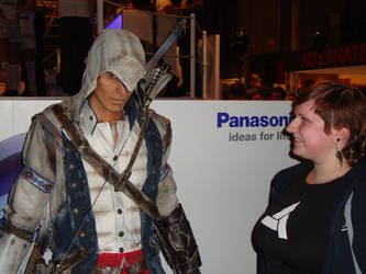 Connor Kenway and me photo 2 by BunnyByoux