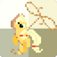 Applejack Squarified by LimeyLassen