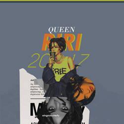 queen by WingsToButterfly