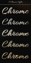 Add-ons - 8 Luxury Chrome, Metal Text Styles PSD by AlexLasek