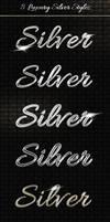 Add-ons - 8 Luxury Silver Text Styles PSD by AlexLasek