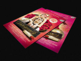 Doctor Love is coming to town  - Valentines Flyers by AlexLasek