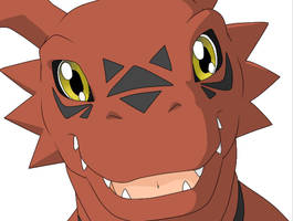 +Guilmon+ by FoxDemon12