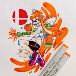 Inkling   Super Smash Bros Ultimate by matyosandon