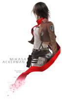 Mikasa Ackerman by Chyal