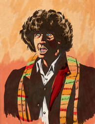 4thDoctor in Color by vonfolger
