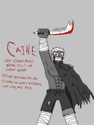 Caine by ELSKULLMAN