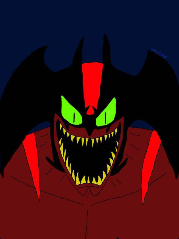 Devilman  by ELSKULLMAN
