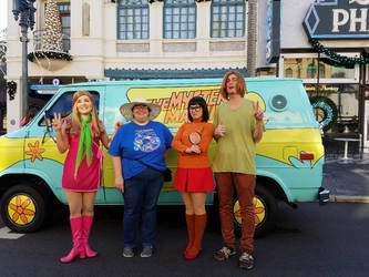 Universal Trip 2: Scooby Gang by The-Angelic-one
