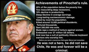 Pinochet's Legacy. by RedAmerican1945