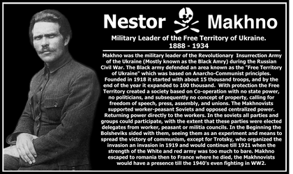 Nestor Makhno by RedAmerican1945