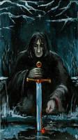 Dark Knight of Magic by rawenna